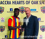 Hearts Signs Karela Utd Winger Dominic Eshun