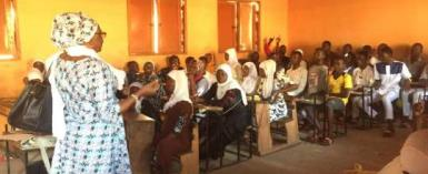 Parents Organise Classes for 307 Double Track Students on Vacation