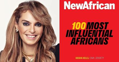 CEO Of Merck Foundation, Rasha Kelej, Makes It To The List Of 100 Most Influential Africans 2019