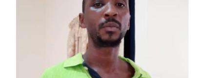 Police are on a manhunt for Samuel Wilson Oudoterg