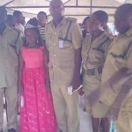 8years old beauty queen visits Suleja Prison, Donates Materials