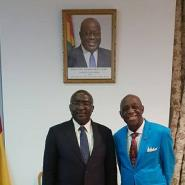 Dr. Thomas Mensah Talks Infrastructure With Vice President Bawumia