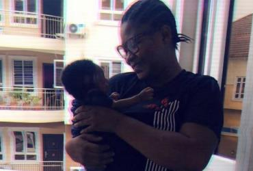 Actress, Joke Jigan Bonding with her Baby as They Step out