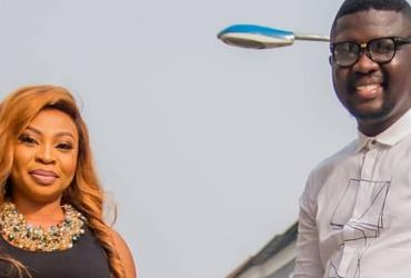 Comedian, Seyi Law Shares Passionate Kiss with Wife in Public