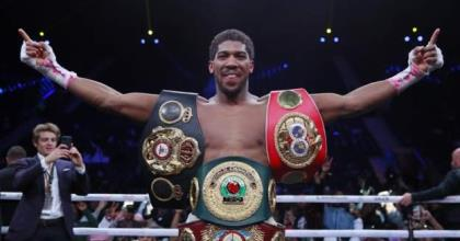 Anthony Joshua Targets Fury Or Wilder In 2020