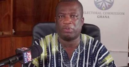 Director of Electoral Services at the EC, Dr. Serebour Quaicoo