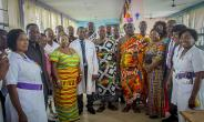Asanteman Association of Denver Colorado Adopts and Commission A3 Ward in the OKomfo Anokye Hospital, Kumasi.