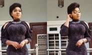 Actress, Mercy Aigbe Slays in Turtle Neck Short Gown
