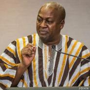 Mahama In Abuja For ICT Confab