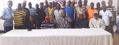 National Cycling Electoral Congress Ends In Tamale