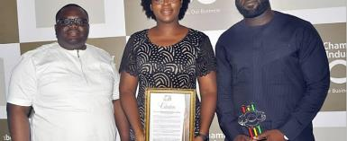 Stratcomm Africa Wins Ghana National Chamber Of Commerce And Industry Award