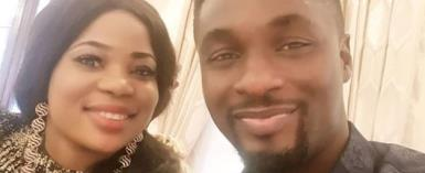 Actor, Adeniyi Johnson Flaunts Pretty Lover to Celebrate New Year