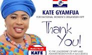 Kate Gyamfua Thanks All Delegates For A Successful Conference