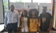 from Left to Right: Guy Futi, Managing Director, Jumia Food, Chioma Odimegwu,Head of Marketing and Vendor Success, Jumia Food and Jumia Party Nigeria, Omolara Adagunodo, Managing Director, Jumia Travel & Olukayode Kolawole, Head Public Relations, Jumia