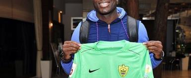 Kwadwo Poku Says He's Fulfilled European Dreams After Anzhi Makhachkala Switch
