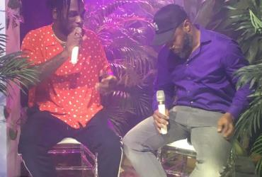 BURNA BOY HOLDS PRIVATE LISTENING PARTY FOR HIS FORTHCOMING ALBUM 'OUTSIDE'.