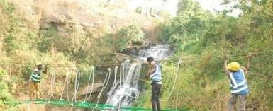 Construction Of Canopy Walk At Kintampo Waterfalls Underway