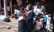 Gender Ministry Holds Xmas Party With Over 500 Children In Sunyani