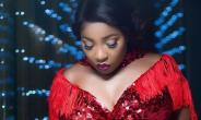 Actress, Anita Joseph Flaunts Massive Backside in Red Oufit