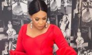 Actress, Faithia Balogun Looking Cool in Red Jumpsuit