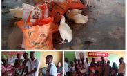 E.K.K Charity Foundation Donates Fetes 50 Widows In Sunyani