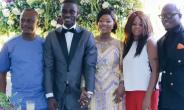 PHOTOS: Blackstars Defender Jonathan Mensah Weds longtime girlfriend