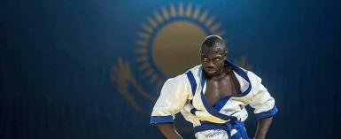 Oliveirra Aryeh Represents Ghana At Kures Wrestling World Championship In Kazakhstan