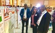 Dr. Nyarkotey with Prof. Emeka of the Covenant University, Nigeria and a representative from the Movember Foundation, USA.