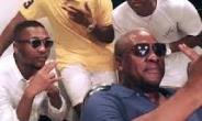 Mahama And His Three Sons Displaying Their 'Kupe' Swag