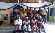 The traditional ruler and the stakeholders in group picture after the stakeholder's  engagement forum