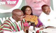 NDC parliamentary candidate for Ayawaso West Wougon speaking