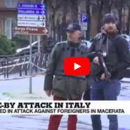 Italy: African migrants injured in drive-by shootings