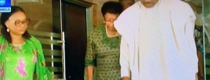 Charlotte Osei meets Ellen Johnson Sirleaf