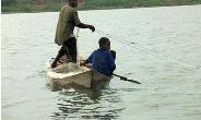 A Child Working On Lake Volta. Photo Taken By Eric Peasah