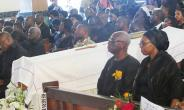 Photos: Burial Service For Komla Dumor---Day One