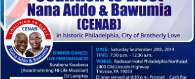 CENAB Launching In Philadelphia, USA