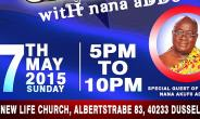 Nana Akufo-addo Ladies Club Hosts Him On Sunday 17th May 2015 In Dusseldorf
