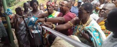 New Market Commissioned At Agona Nsaba