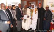 World Tijaniya Leader Honours Ghana's Tijaniya Supreme Leader