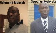 Richmond Mensah and Oppong  Kyekyeku