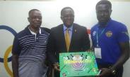 GOC President And Business Development Minister Endorse Frindo Soccer Board Game