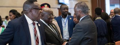 Nana Addo Urges African Leaders To Scale -Up Implementation Of SDGs