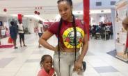 Actress, Uche Ogbodo Spoils her Little Girl