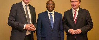 German Economics Minister Says Ghana Made 'Impressive Economic Progress'