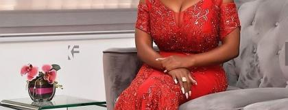 Nana Aba Anamoah Shares Her Beautiful Valentine Day Photos
