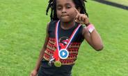 Seven-Year-Old Boy Sprints 100M In 13.48 Seconds [VIDEO]