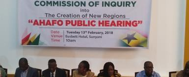 Creation Of Bono East Region: Commission Ends Hearing
