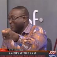 Amidu Appointment As Special Prosecutor Scared Me