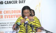 First Lady Fights Cancer....Cuts Sod For Cancer Children Hostel