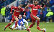 Jordan Ayew Features In Swansea's FA Cup Goalless Stalemate At Sheffield Wednesday